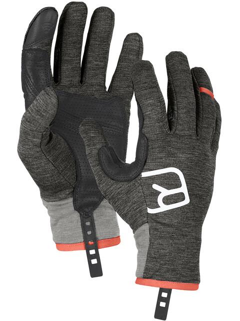 Ortovox Fleece Light Gloves Men dark grey blend
